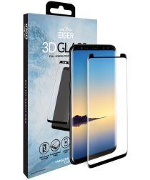 Eiger Case Friendly Tempered Glass Samsung Galaxy Note 9 Zwart