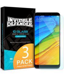 Ringke ID Tempered Glass 0.33mm Xiaomi Redmi 5 Plus [3 Pack]