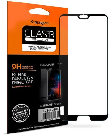 Spigen Huawei P20 Pro Full Cover Tempered Glass Screen Protector