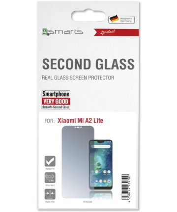 4Smarts Second Glass Xiaomi Mi A2 Lite Tempered Glass Screen Protector