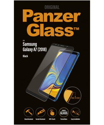 PanzerGlass Samsung Galaxy A7 2018 Edge To Edge Screenprotector Zwart