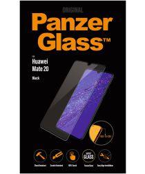 PanzerGlass Huawei Mate 20 Edge to Edge Screenprotector Zwart