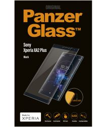 Panzerglass Sony Xperia XA2 Plus Edge to Edge screenprotector Zwart