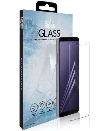 Eiger Tempered Glass Screen Protector Samsung Galaxy A8 (2018)