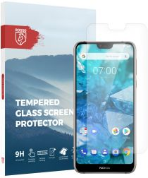 Rosso Nokia 7.1 9H Tempered Glass Screen Protector
