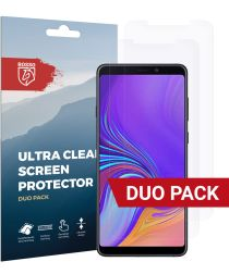 Rosso Samsung Galaxy A9 (2018) Ultra Clear Screen Protector Duo Pack