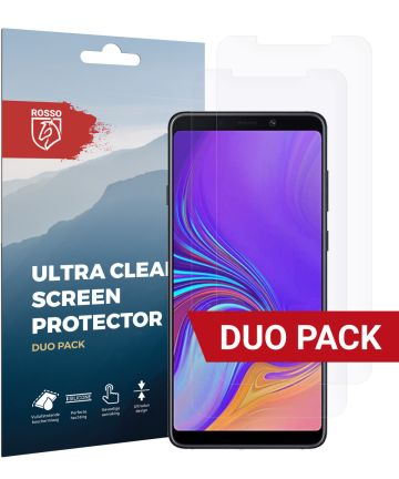 Rosso Samsung Galaxy A9 (2018) Ultra Clear Screen Protector Duo Pack Screen Protectors