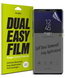 Ringke DualEasy Anti-Stof Screen Protector Galaxy Note 8 [2-Pack]