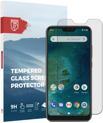 Rosso Xiaomi Mi A2 Lite 9H Tempered Glass Screen Protector Screen Protectors