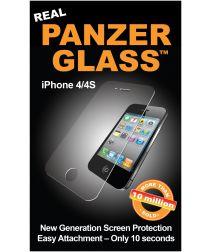 PanzerGlass Apple iPhone 4S / 4 Screenprotector Zwart