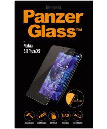 Panzerglass Edge to Edge Nokia 5.1 Plus Screenprotector Zwart