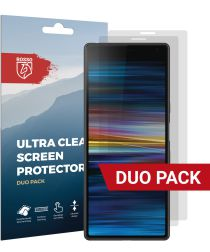 Rosso Sony Xperia 10 Plus Ultra Clear Screen Protector Duo Pack
