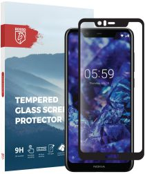 Rosso Nokia 5.1 Plus 9H Tempered Glass Screen Protector