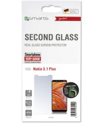 4Smarts Second Glass Nokia 3.1 Plus Tempered Glass Screen Protector