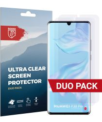 Rosso Huawei P30 Pro Ultra Clear Screen Protector Duo Pack