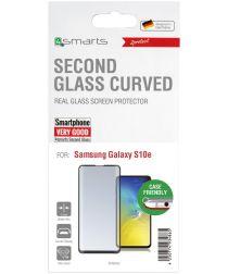 4Smarts Second Glass Colour Frame Samsung Galaxy S10E Zwart