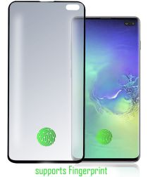 4Smarts Second Glass Colour Frame Samsung Galaxy S10 Plus Zwart