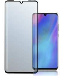 4Smarts Second Glass Curved Colour Frame Huawei P30 Zwart