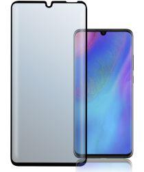4Smarts Second Glass Colour Frame Huawei P30 Lite Zwart