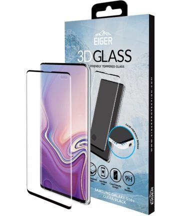 Eiger 3D Glass Tempered Glass Samsung Galaxy S10 Plus Zwart