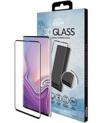 Eiger 3D Glass Full Screen Samsung Galaxy S10 Zwart Screenprotector