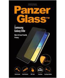 PanzerGlass Samsung Galaxy S10E Privacy Glass Screenprotector Zwart