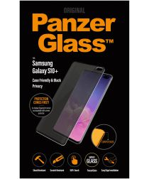 PanzerGlass Galaxy S10 Plus Privacy Glass Screenprotector Zwart