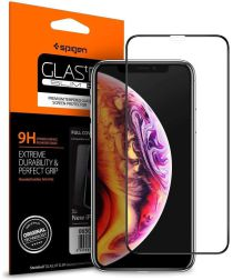Spigen Apple iPhone XS Max Full Cover Tempered Glass Screen Protector