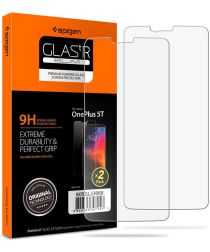 Spigen OnePlus 5T Tempered Glass Screen Protector 2-Pack