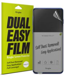 Ringke Dual Easy Samsung Galaxy S10 Screen Protector (2-Pack)