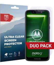 Rosso Motorola Moto G7 Play Ultra Clear Screen Protector Duo Pack