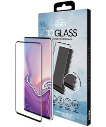 Eiger Edge to Edge Tempered Glass Samsung Galaxy S10 Plus Zwart
