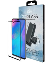 Eiger Tempered Glass Screen Protector Huawei P30 Zwart