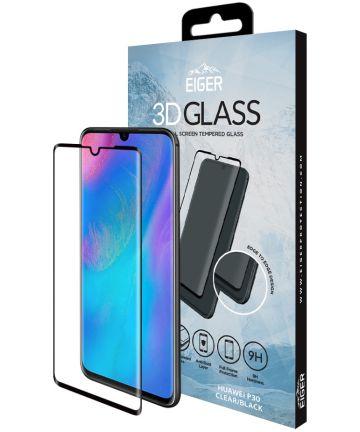 Eiger Tempered Glass Screen Protector Huawei P30 Zwart