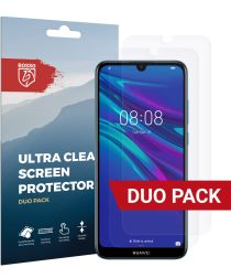 Rosso Huawei Y6s / Y6 (2019) Ultra Clear Screen Protector Duo Pack