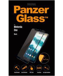 Panzerglass Motorola One Case Friendly Screenprotector Zwart
