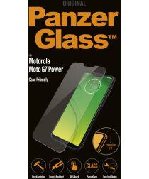 Panzerglass Motorola Moto G7 Power Case Friendly Screenprotector Zwart