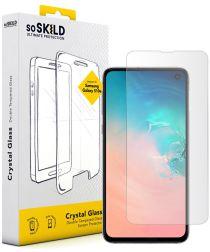 SoSkild Galaxy S10E Tempered Glass Edge to Edge Screenprotector