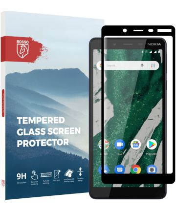 Rosso Nokia 1 Plus 9H Tempered Glass Screen Protector
