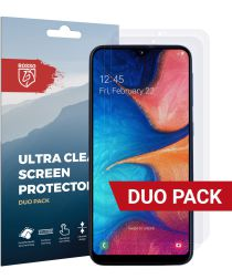 Rosso Samsung Galaxy A20E Ultra Clear Screen Protector Duo Pack