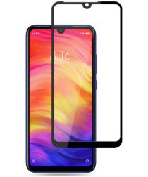 Xiaomi Redmi Note 7 Full Cover Tempered Glass Zwart