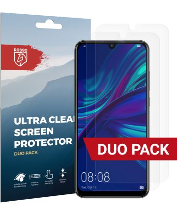 Rosso Huawei P Smart Plus (2019) Ultra Clear Screen Protector Duo Pack