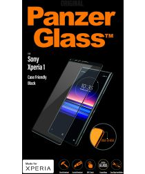 PanzerGlass Sony Xperia 1 Case Friendly Screenprotector Zwart
