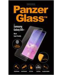 PanzerGlass Samsung Galaxy S10 Plus Fingerprint Screenprotector Zwart