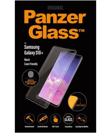 PanzerGlass Samsung Galaxy S10 Plus Fingerprint Screenprotector Zwart