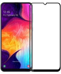 Samsung Galaxy A50 Volledig Dekkende Tempered Glass Screen Protector