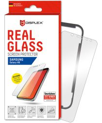 Displex 2D Real Glass + Frame Samsung Galaxy A6 Screen Protector