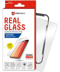 Displex 2D Glass + Frame Samsung Galaxy A7 (2018) Screen Protector