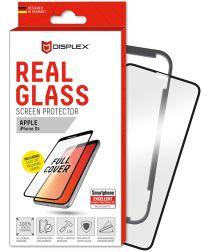 Displex 3D Real Glass + Frame Apple iPhone XR Screen Protector Zwart