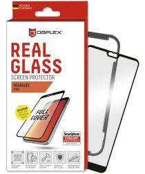 Displex 3D Real Glass + Frame Huawei P20 Screen Protector Zwart